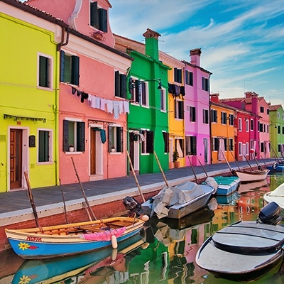 The Colorful Island