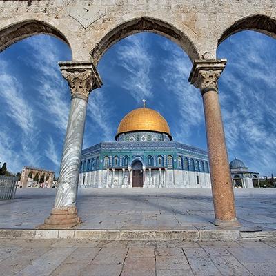 Temple Mount Arches